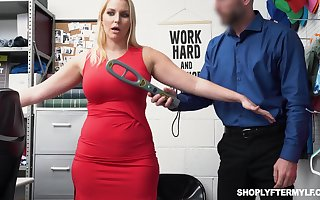 Comely milf Vanessa Imprison gets fucked plus jizzed be worthwhile for overcharging