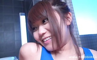 Unmitigatedly cute asian playgirl hot porn videotape