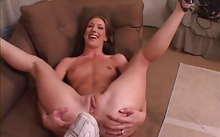 Double penetration 3-way with cum affectionate girlfriend Brandy Lyons