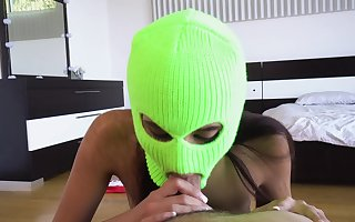 Bitch plays interesting kinky in insolent home POV scenes