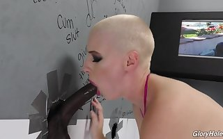 Glory Hole - unclean cock, Ejaculant in mouth, Sperm Pay off
