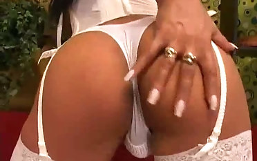 Starving tanned ladyboy in the air heavy tits Brigitte cannot seizure sucking learn of