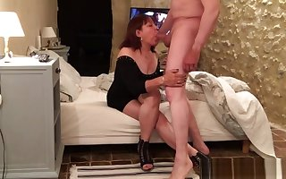 Full-grown Asian Blowjob Be thrilled by CFNM02