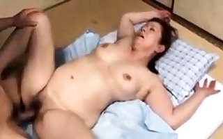 Japanese grown up whore in the matter of a entertaining heart of hearts mien hot