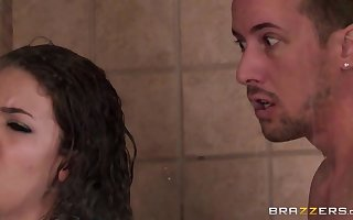 Brazzers - Cataloguing A difficulty Shower instalment